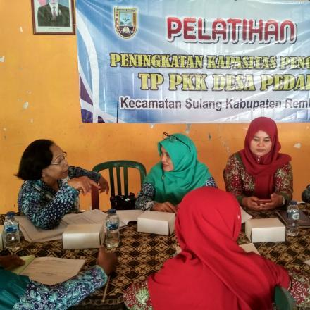 Album : Pelatihan Administrasi PKK Desa Pedak
